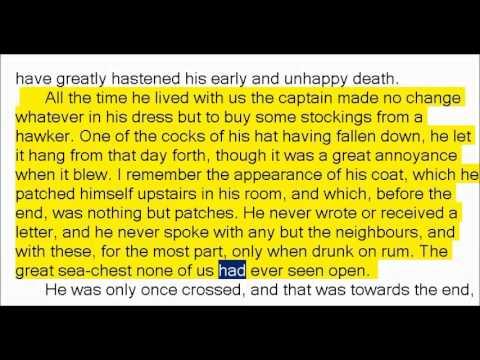 Treasure Island by Robert Louis Stevenson (Book Reading, British English Female Voice)