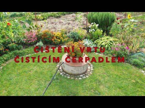 Čištění vrtu
