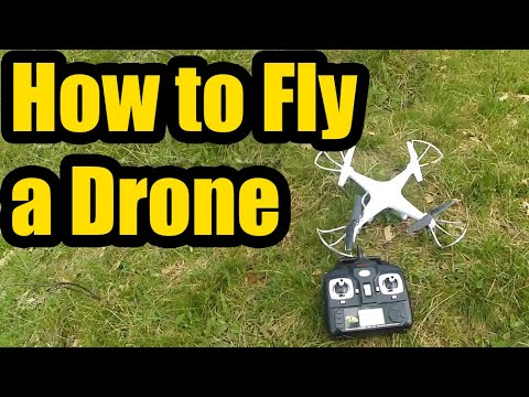 How to Fly a Quadcopter/Drone (Basic Tutorial)