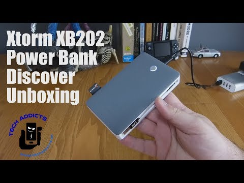 Xtorm XB202 Power Bank Discover Unboxing