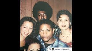 Rare Pictures Of Eazy-E With Daz Efx Mike Concepcion BG Knocc Out Allen Hughes Last Pic Eazy Took
