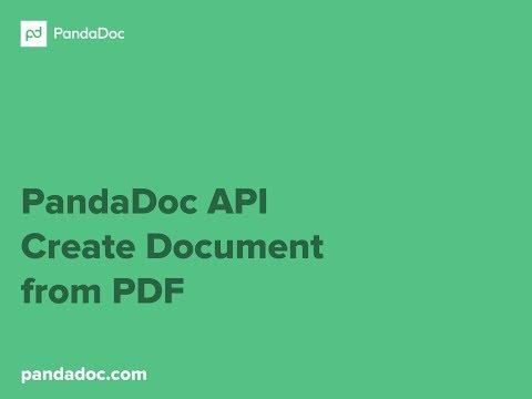 PandaDoc API