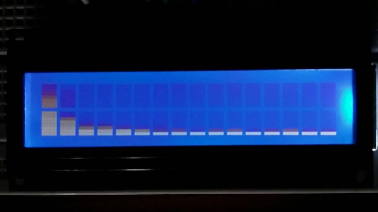 STM32F103C8 32 point DFT Audio Spectrum Analyzer 1