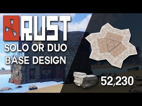 Rust trio base design no blueprints needed expandable rust base extra thicc rust duo or trio base design rust base building 52230 stone malvernweather Images