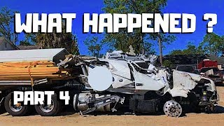|STORY Behind The WRECK| 2019 Volvo VNL Semi Crash REBUILD Copart Project | PART 4 |