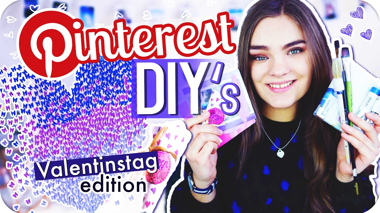 3 pinterest diy 39 s geschenkideen zum valentinstag mit luisa crashion i 39 mjette youtube - Pinterest geschenkideen ...