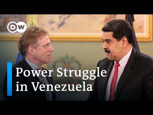 Germany drawn into power struggle between Venezuelas Maduro and Guaido   DW News