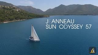 обзор парусной яхты Jeanneau Sun Odyssey 57  Школа яхтинга Sailing Time