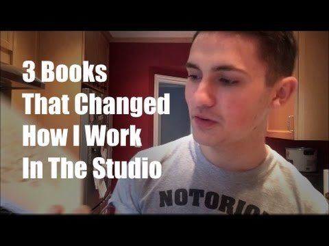 Three Books That Fundamentally Changed How I Work in The Studio (Music Production Psychology)