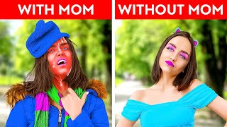 TEENS vs PARENTS FUNNY MOMENTS || My Mom VS Your Mom Relatable Situations by By La la Life Family