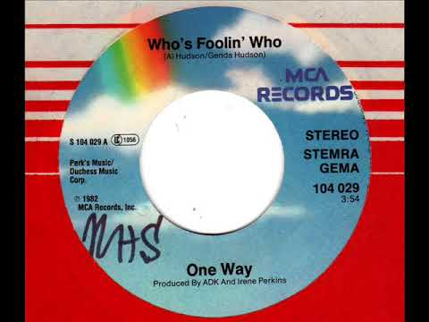 ONE WAY  Who's foolin' who mp3