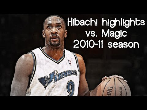 Gilbert Arenas season-high 31 points (NBA RS 2010/2011 - Orlando Magic vs. Washington Wizards)