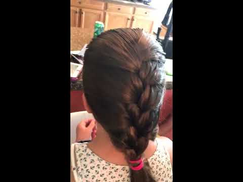 Easy French Braid Tutorial