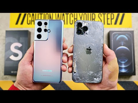 Clash of the titans: Samsung Galaxy S21 Ultra vs. iPhone 12 Pro Max in extreme durability test