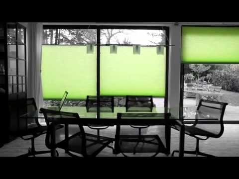 ENERGY SAVING DUETTE®  BLINDS - WINTER TIME