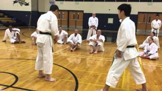 KWF Yahara Karate - Jion Part 2 - Jiju Uke (Sen no Sen) - April 2016