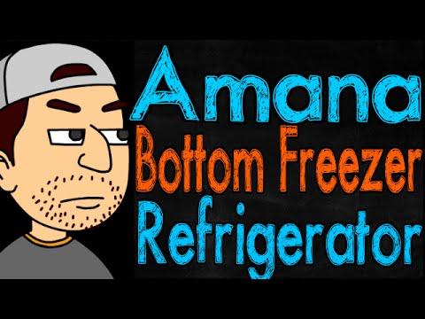 Amana Bottom Freezer Refrigerator Review
