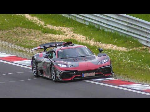 Nurburgring Prototypes- Bugatti Centodieci, AMG One, Huracan STO Etc