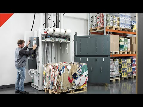 Presse imballatrici HSM V-Press 860 plus