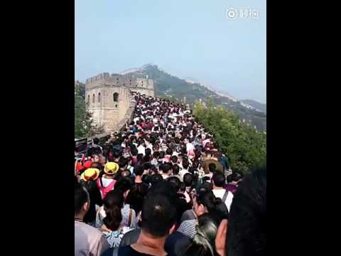 Tourists Flock to Great Wall of China During National Holiday 01