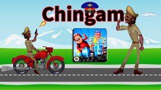 Motu Patlu Bike Race - Chingam Gameplay Walkthrough