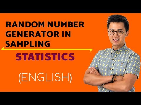 Statistics - How to Use the  Random Number Generator in Sampling