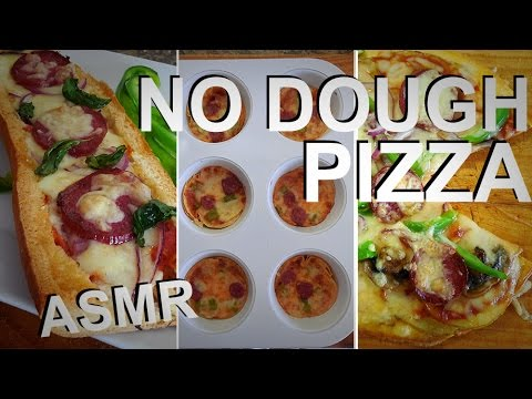 three ways to make no dough pizza whispering asmr cooking recipe youtube. Black Bedroom Furniture Sets. Home Design Ideas