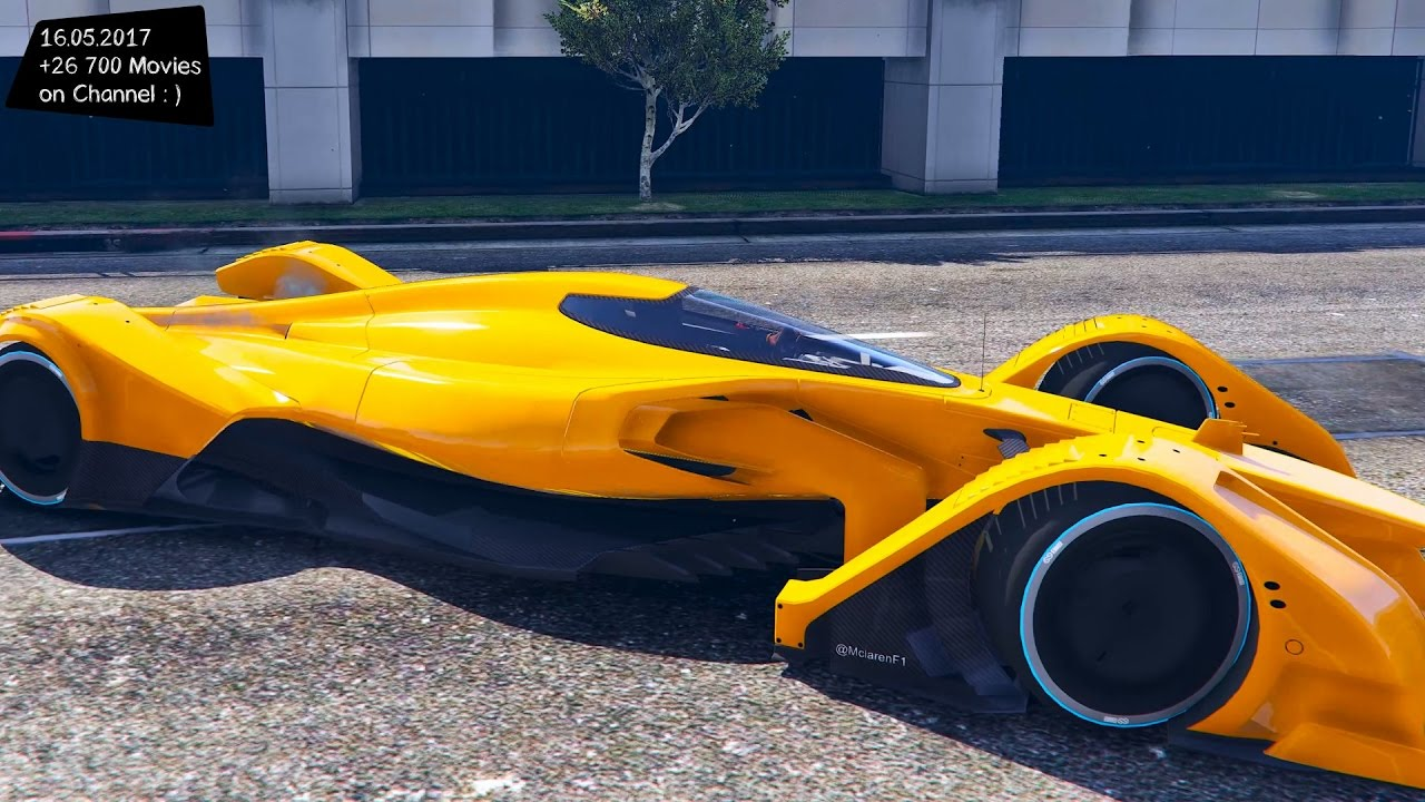 2016 mclaren mp4 x new enb top speed test gta mod future youtube. Black Bedroom Furniture Sets. Home Design Ideas