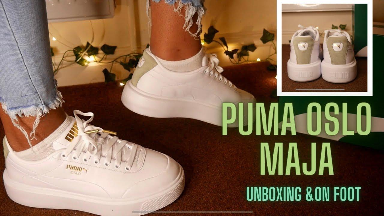 BETTER THAN THE PUMA CALI?!   Puma Oslo Maja Unboxing & On Foot Review