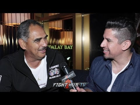 "ABEL SANCHEZ ""I THINK GGG TOOK OFF THE LAST ROUND; DIDNT DO ENOUGH TO WIN IT CONVINCINGLY"""