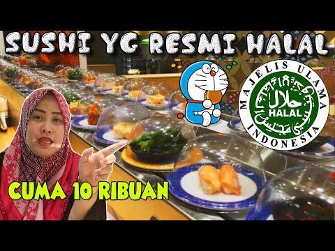 SUSHI YANG HALAL MUI !!! Di Tom Sushi Apakah Enak Dan Murah ??