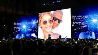 Beyonce Forever Young/Perfect Warsaw. PROBLEMS on stage