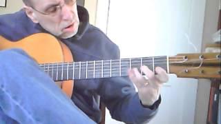Flamenco Rumba in E minor  (Original) - fast and slow