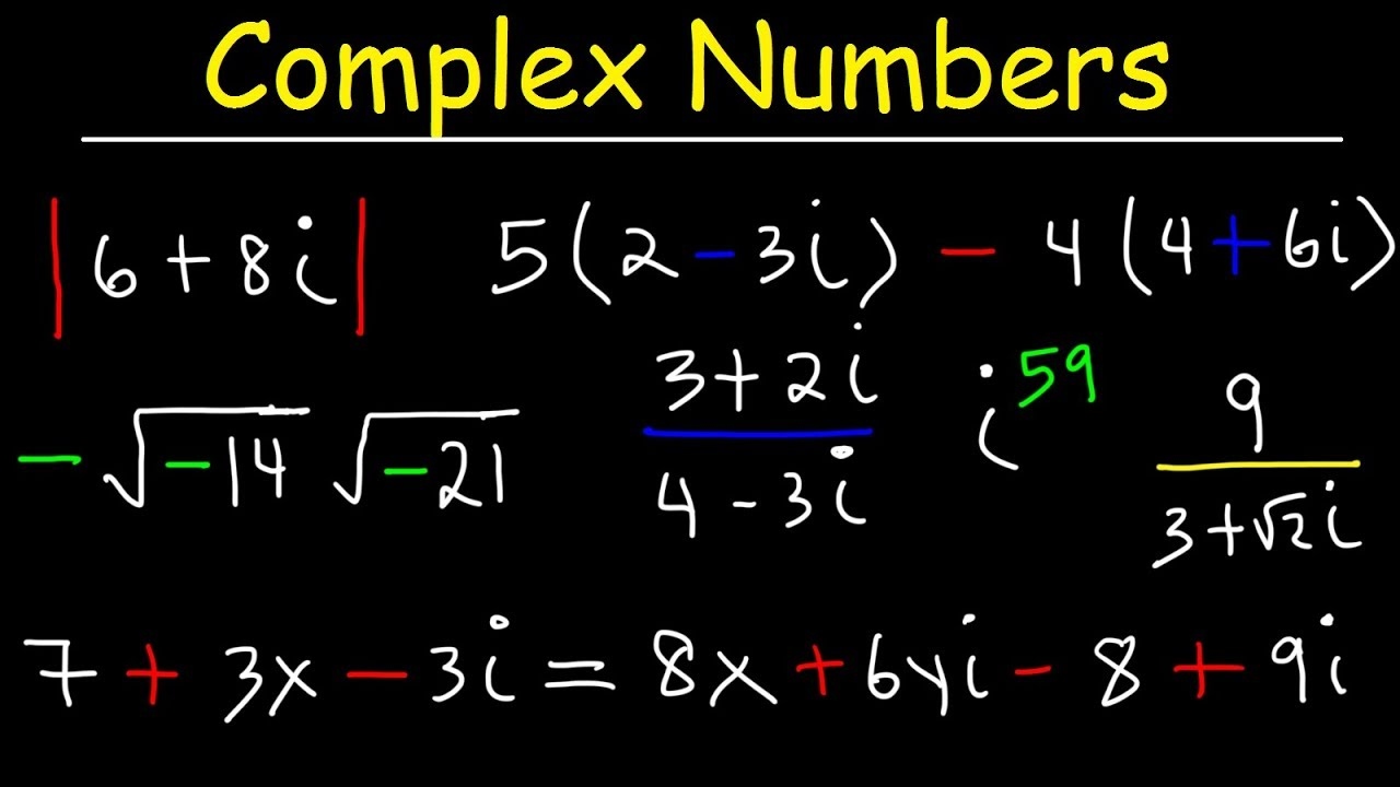 Complex Numbers Practice Problems Youtube What is addition of complex numbers