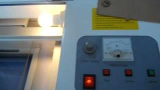 40w laser cutting on acrylic