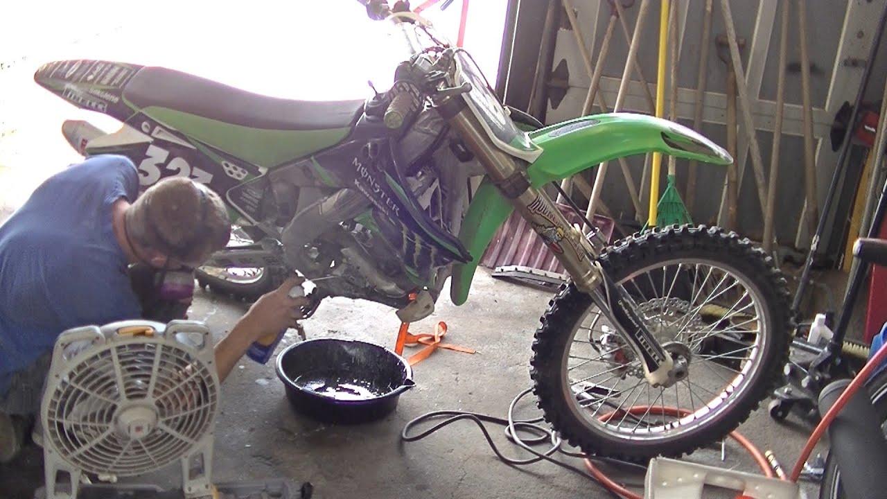 Repairing Dirt Bike Crank Case Youtube