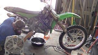 Repairing Dirt Bike Crank Case