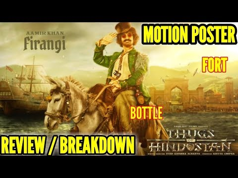 THUGS OF HINDOSTAN  AAMIR KHAN MOTION POSTER    FIRANGI