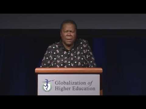 Excerpt: Naledi Pandor, Minister of Home Affairs of the Republic of South Africa
