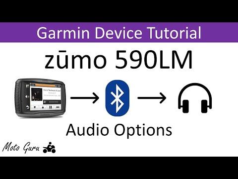Garmin Zumo 590LM Audio Options