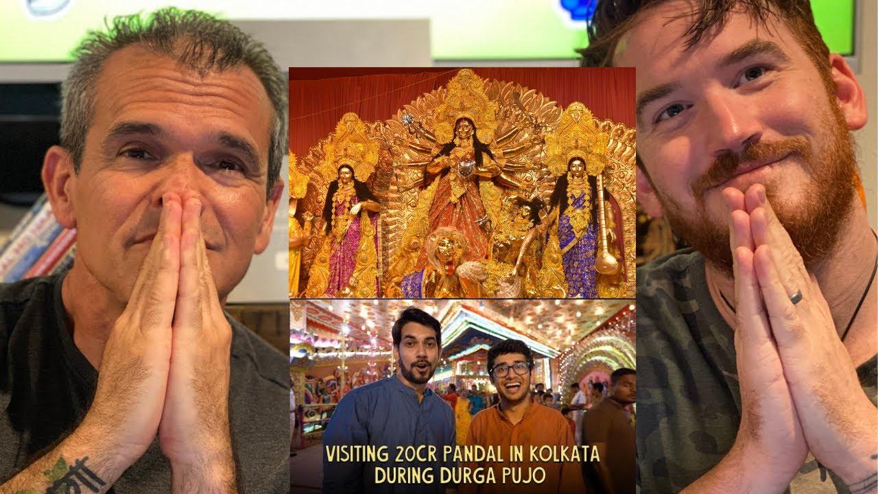 Durga Puja  20Cr Pandal In Kolkata REACTION!!