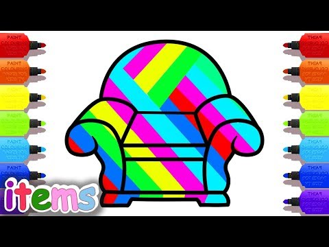 Kids Educational Series # 2: Draw A Chair_ Chair Color