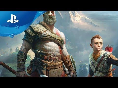 God of War – Combat Gameplay Trailer [PS4] Paris Games Week 2017