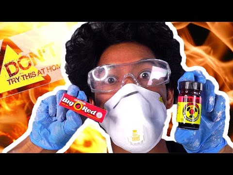 MEGA SPICY GUM PRANK DIY HOW TO MAKE!!! DO NOT TRY THIS AT HOME! DANGER!