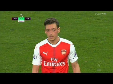 Mesut Özil vs Sunderland (Home) 16-17 HD 720p [EPL]