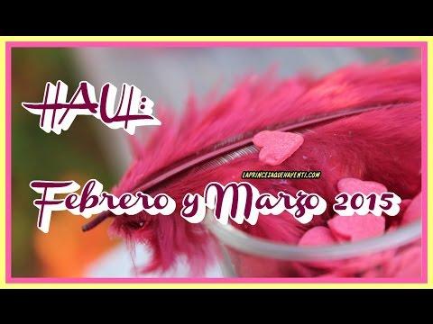 * HAUL: Febrero y Marzo 2015 * (Rimmel, Maybelline, Bourjois, L'oreal, Gellack, Escada, MAC, NYX)