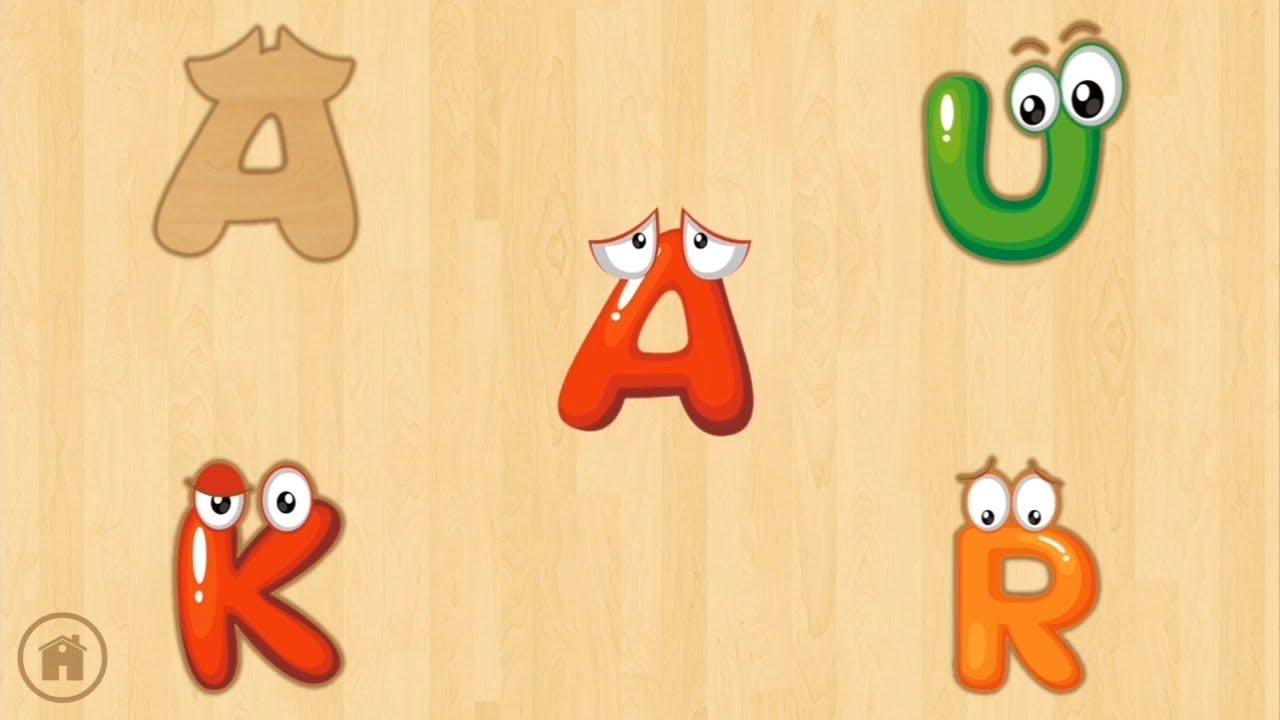 Harfleri Ogreniyorum Oyunu Learning Alphabet Games Youtube