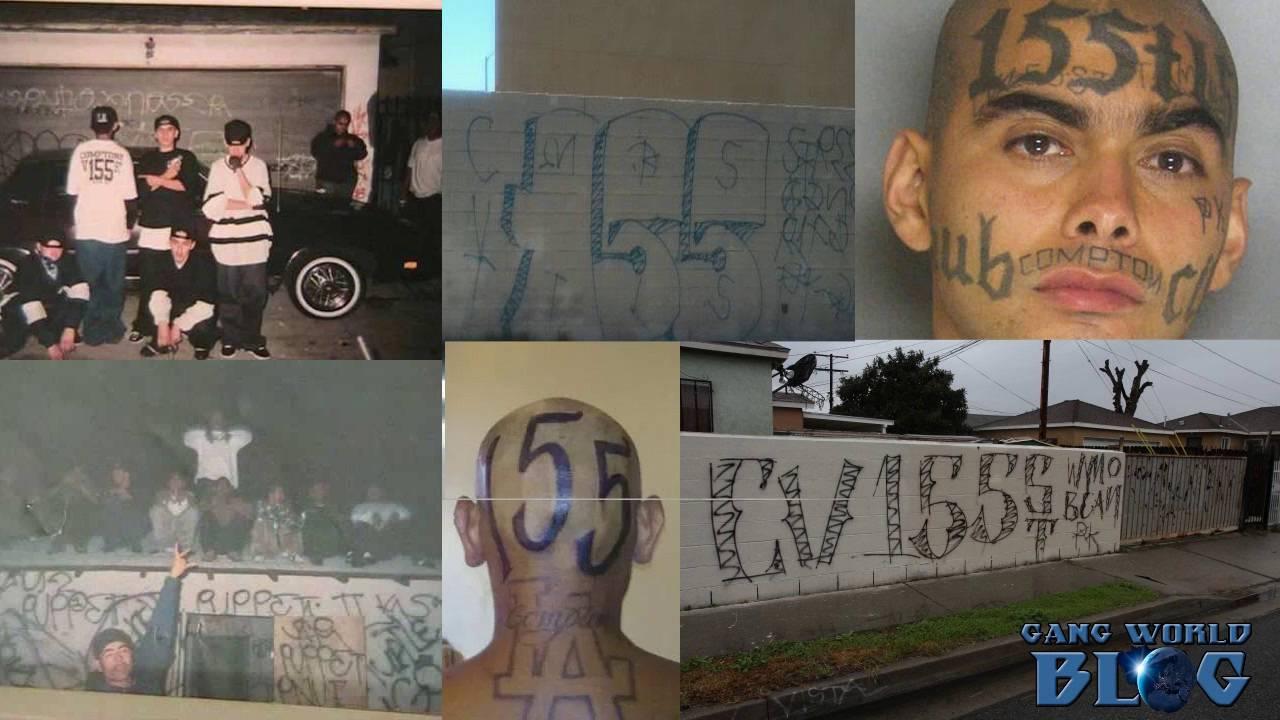 compton varrio 155 gang history  compton