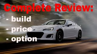 2018 Subaru BRZ Limited Automatic w/Performance Package - Build & Price Review