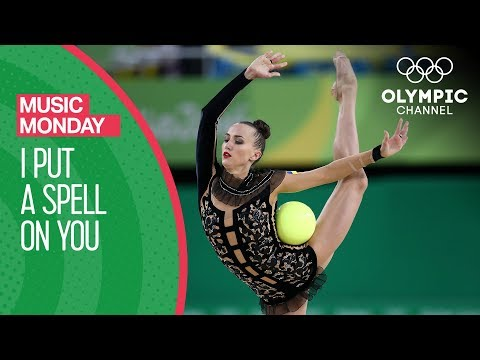 """I Put a Spell on You"" in Rhythmic Gymnastics Style 